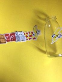 Bottigliette con tag Harry Potter-2