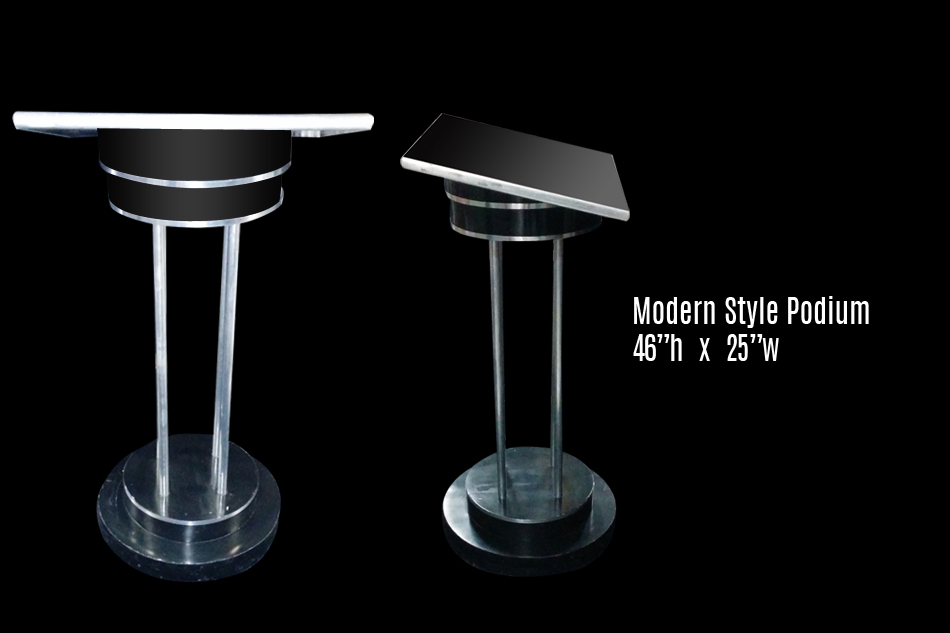 Podiums Multiple Styles Los Angeles PartyWorks Inc