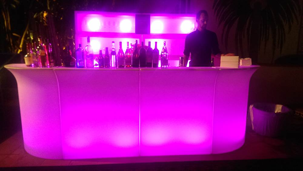 LED Bars  LED Bar Stools  Los Angeles PartyWorks Inc