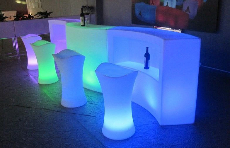 LED Bars  LED Bar Stools  Los Angeles PartyWorks Inc  Equipment Rental Interactive Games