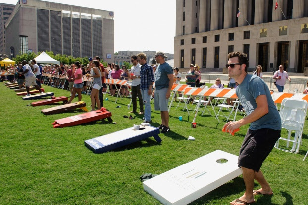 Corn Hole Toss  Los Angeles PartyWorks Inc  Equipment