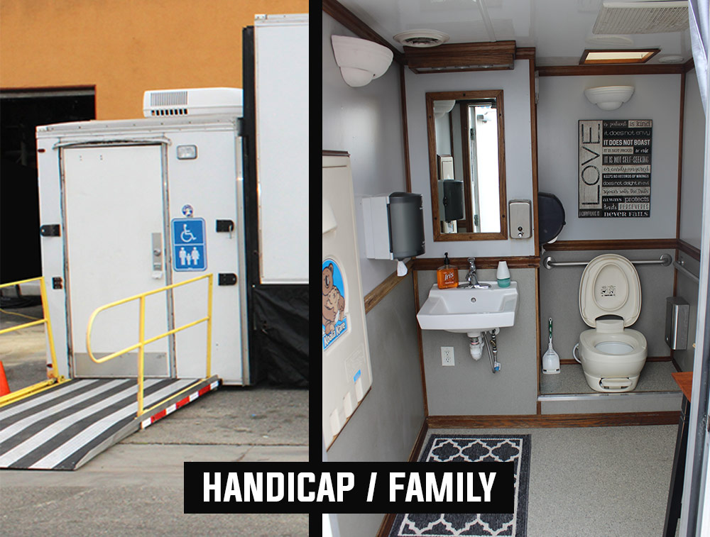 Executive Bathrooms  Porta Potty   Los Angeles PartyWorks Inc  Equipment Rental