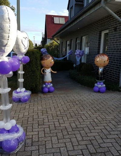 Aktionen zur Hochzeit  Partyzauber Rheine