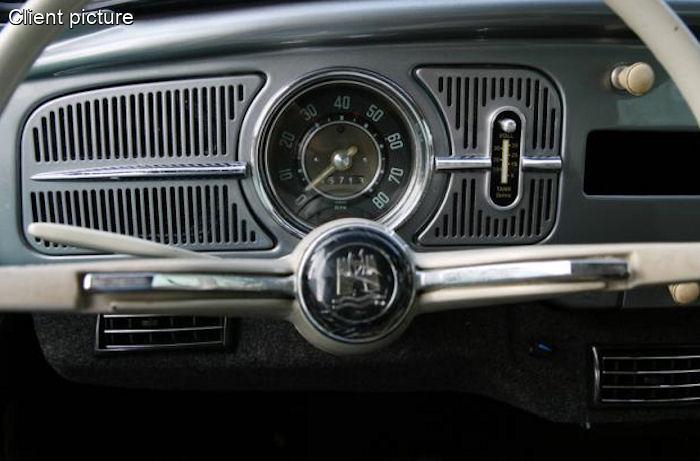 Beetle Fuse Box Volkswagen Beetle Dash Grill For Dehne Fuel Gauge Number 4496