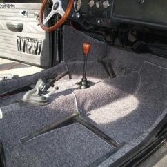 Folding Chair Parts Fishing Barrow Volkswagen Beetle Carpet Kit Interior Salt & Pepper Number 5577
