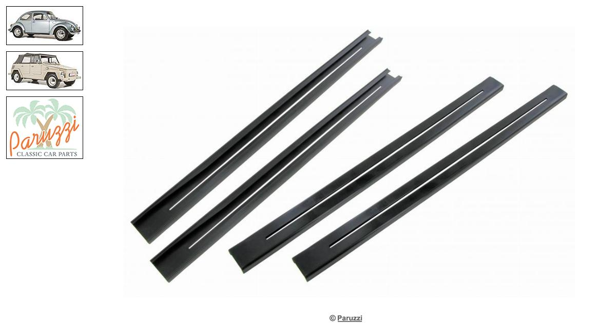 Volkswagen Beetle Bushings seat rails A-quality (4 pieces