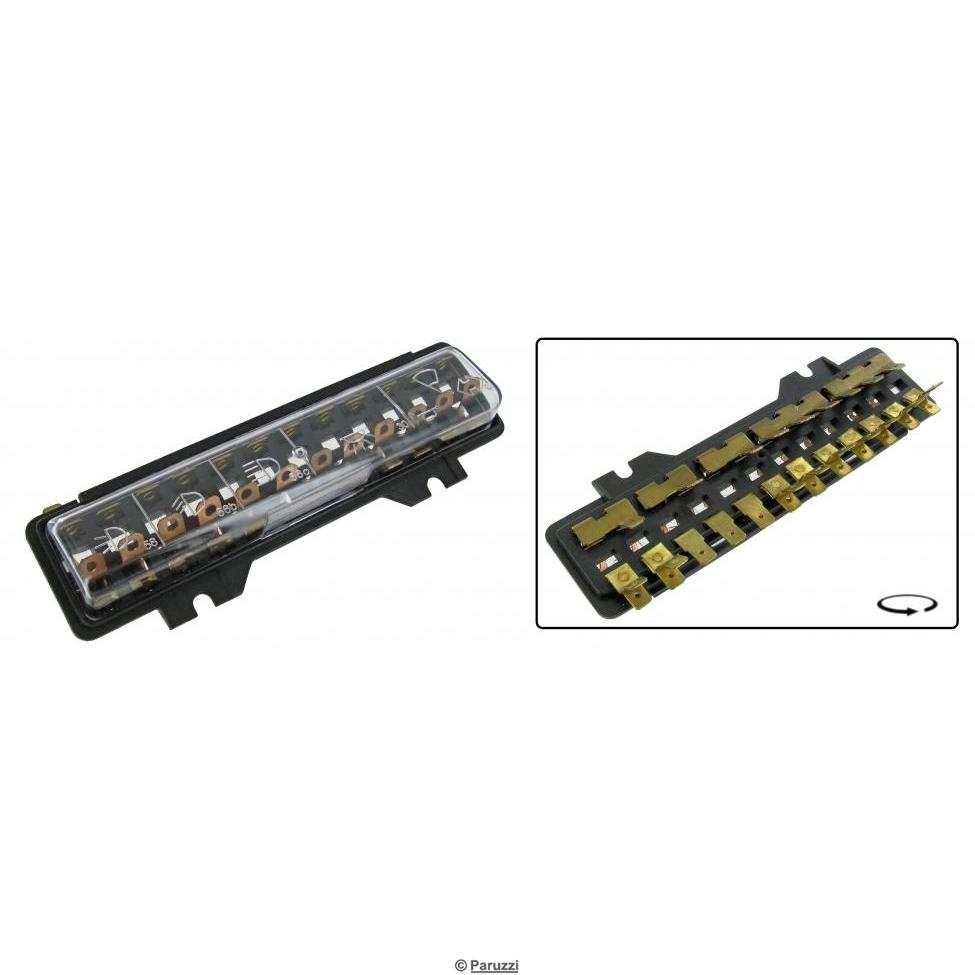 hight resolution of fuse box with cover 12 fuses