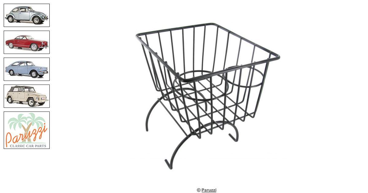 Volkswagen Beetle Storage basket with cupholders black
