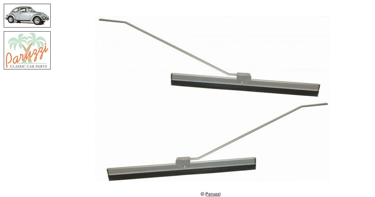 Volkswagen Beetle Wiper arm (including blade) grey (Per