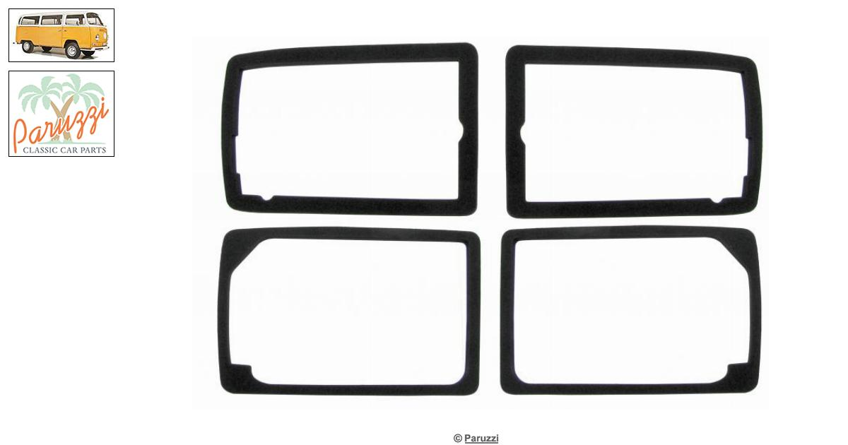 Volkswagen Bay window Turn signal seal kit for lens and