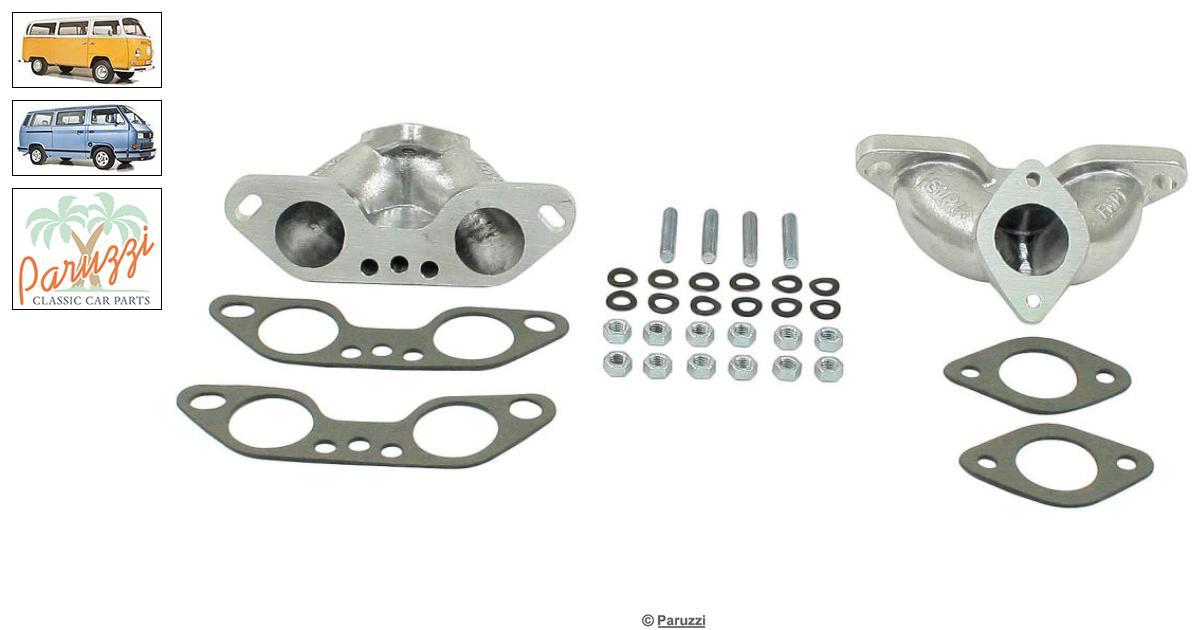 Volkswagen Vanagon/T25 Inlet manifolds Weber ICT (Per Pair
