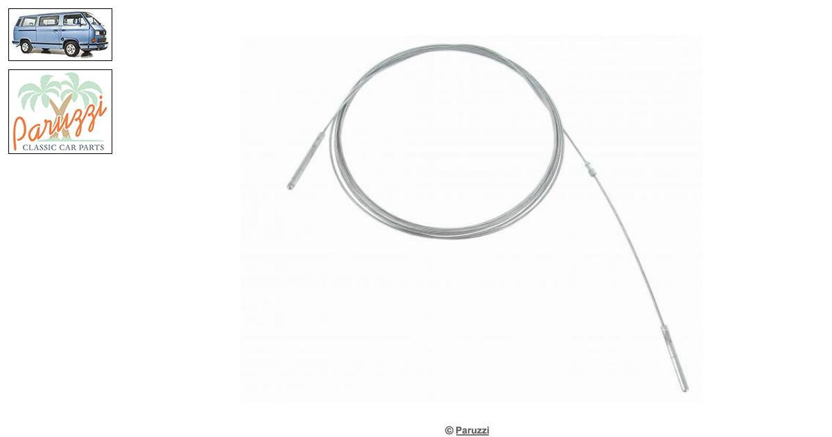 Volkswagen Vanagon/T25 Throttle inner cable for cars with