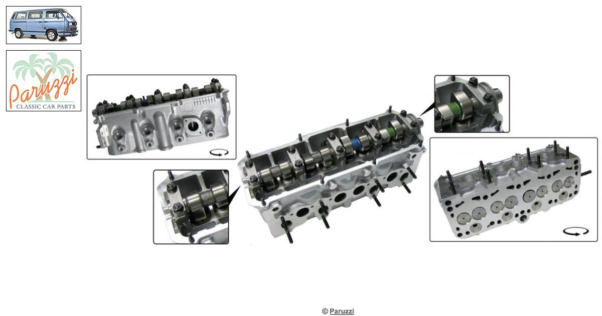 Volkswagen Vanagon/T25 Cylinder head complete with