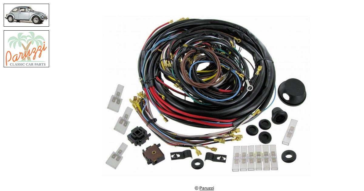 Volkswagen Beetle Wiring loom complete number 775 / 113