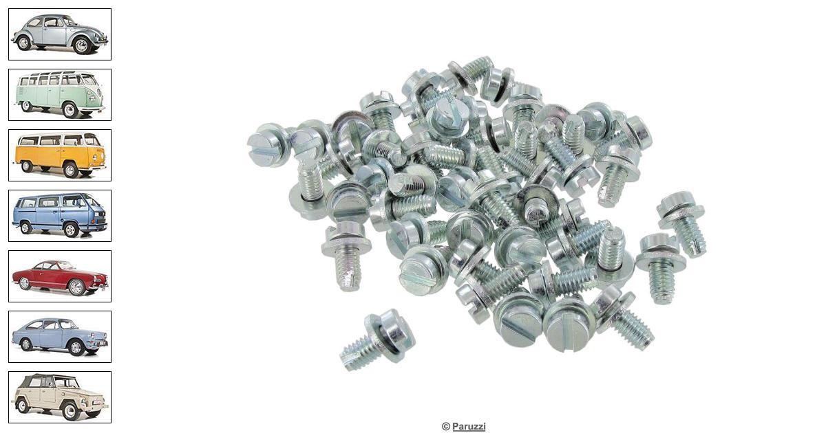 Volkswagen Beetle Shroud screw kit standard (50 pieces