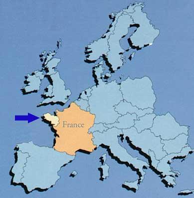 Bretagne en Europe