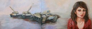 Mixed media on canvas, 80 x 220 cm, 2015