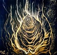 Acrylic on canvas, 100 x 100 cm, 2007