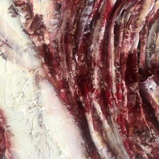 Woman, mixed media on canvas, 90 x 110 cm, 2018,