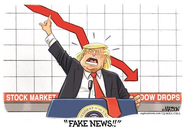 stock market drops political