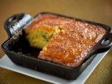 Torta de Elote con Carne de Puerco