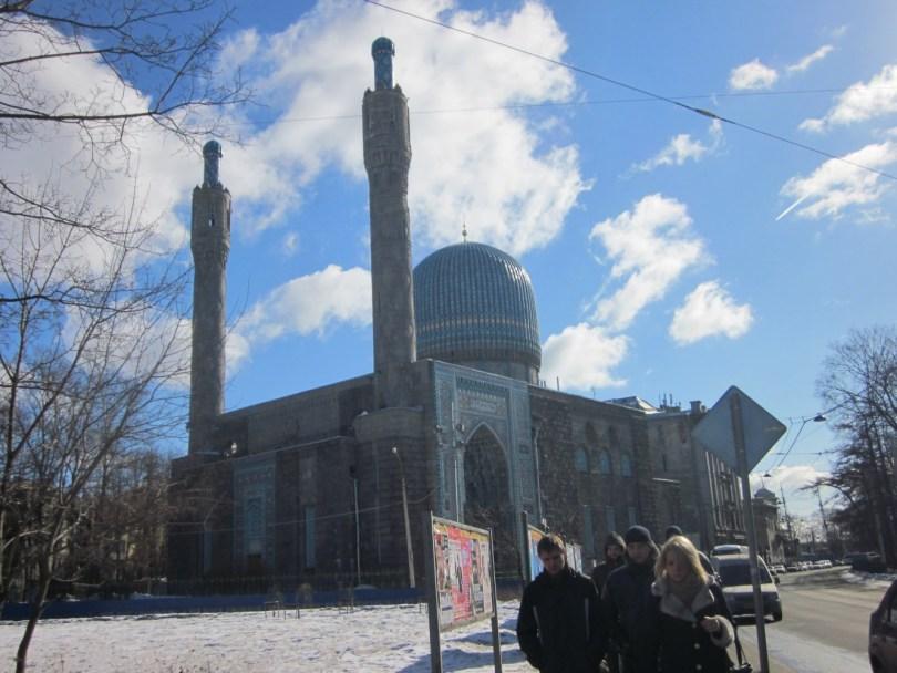 Mezquita San Petersburgo