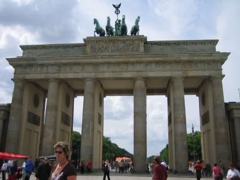 Puerta de Brandemburgo Berlin