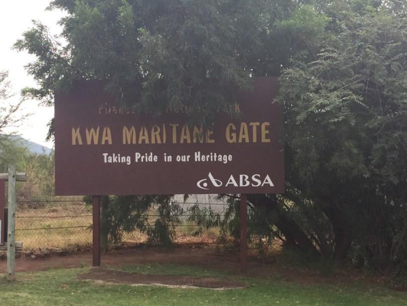 Entrada a Pilanesberg