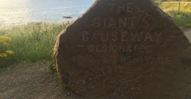 La calzada del Gigante