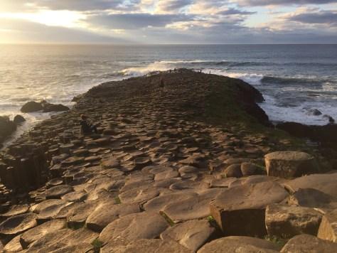 Piedras calzada del gigante