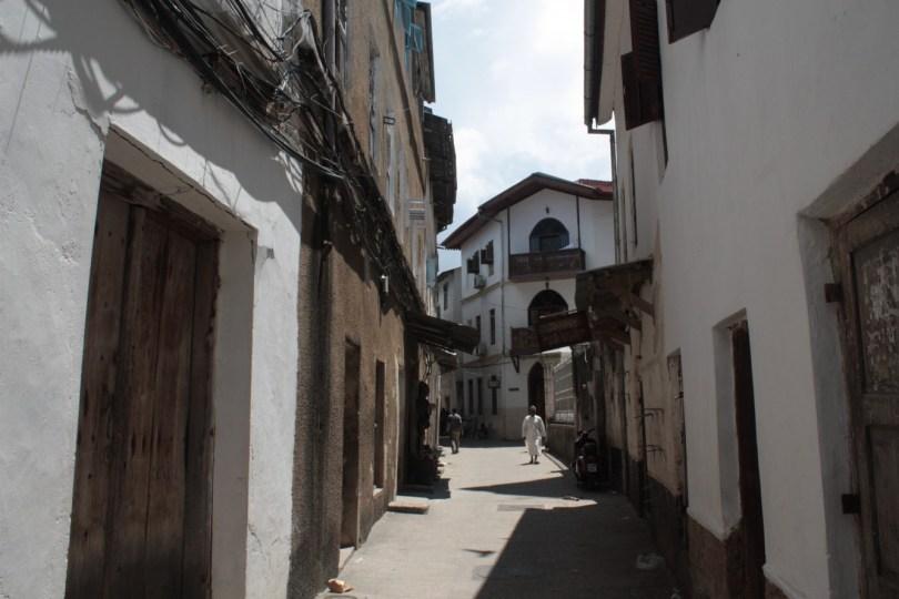 calles Stone Town