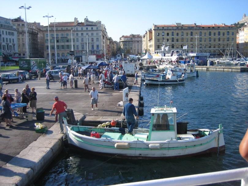 Vieux Port Marsella