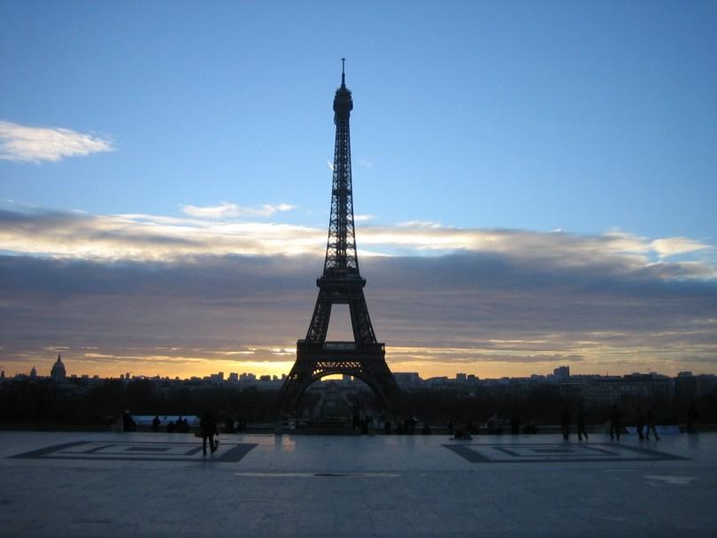 París Torre Eiffel Trocadero