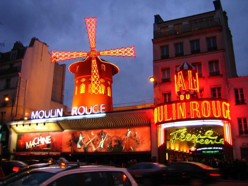Mouline Rouge París