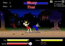 Muay Thai el juego de zombies