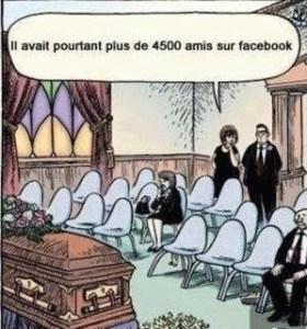 la course aux amis facebook vue sous l'angle de la réalité physique