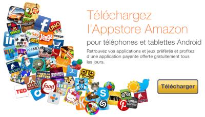 Amazon Appstore français