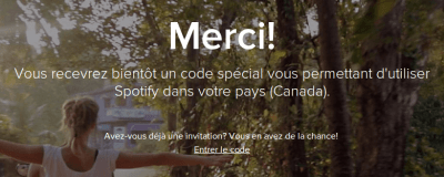Spotify Canada