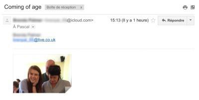 Pourriel iCloud spam