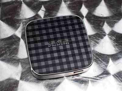 Le Wireless Media Drive de Sandisk, pour transférer ses fichiers à son téléphone sans fil.