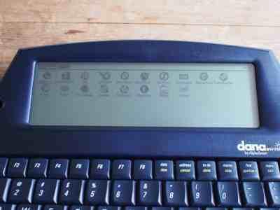 Fonctionnait avec Palm OS