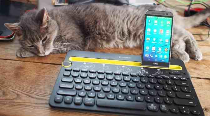 Le bonheur: le clavier universel multidispositif k480 de Logitech