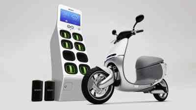 Gogoro scooter électrique