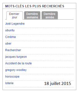 Recherche Ubuntu dans La Presse 18 juillet 2015