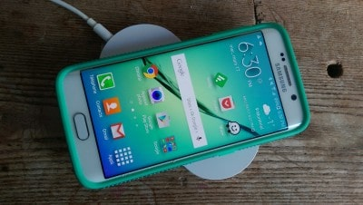 recharge sans fil Galaxy S6 Edge