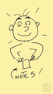Un dessin avec le Note 5