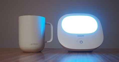 luminotherapie phototherapie Philips tasse chauffante Ember