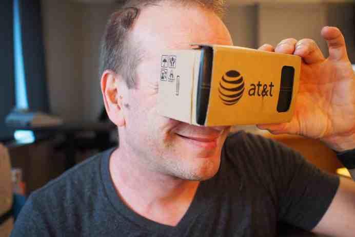 Google Cardboard lunettes réalité virtuelle Pascal Forget
