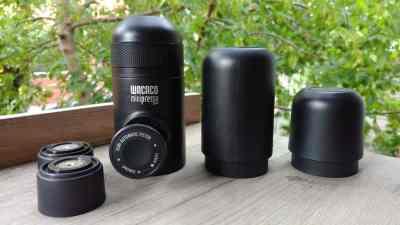 Minipresso grand réservoir et filtres supplémentaires
