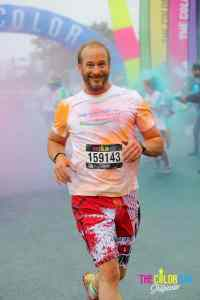 Pascal Forget Color Run 2016